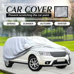 Suv Universal Car Cover Outdoor Waterproof Uv Rain All Weather Protection Yl