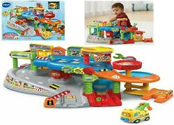 Vtech Baby Toot Toot Drivers Garage Ages 1+ Toy Play Race Car Gift Truck Wash
