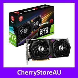 In Hand Msi Nvidia Geforce Rtx 3060 Gaming X 12gb Graphics Video Card Hdmi Dp