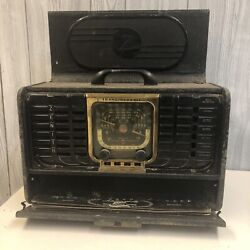 Vintage 1946 Zenith Trans-oceanic Tube Radio 8-g-005yt Parts Only
