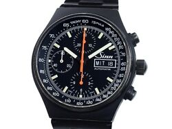 Sinn 144 Stainless Steel Automatic Chronograph Wristwatch Shipped From Japan