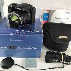 Canon Power Shot Sx510hs Zoom Lens 30x Is Compact Digital Camera Japan Shipped