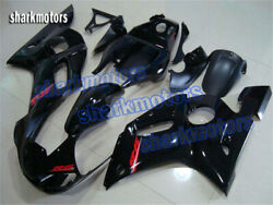 Fairing Black Injection Plastic Fit For Yamaha Yzf600 R6 1998-2002 1999 2000 Ab5
