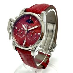Graham 2cxbs.r01a Stainless Steel Chronograph Fighter Wristwatch Japan Shipped