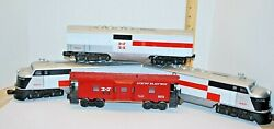 Lionel 6-8851 New Haven F-3 A-a Dual Motor Diesel Power And Dummy Set-w/boxes