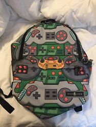 Space Junk Boys Backpack Bright Colors Lots Of Space New With Out Tags