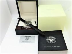 Longines L2.750.4.56.0 Heritage Collection Swiss Made Chronograph Wristwatch