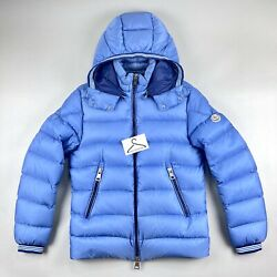 Moncler Thoule Jacket Size 1 Small Mens Puffer Coat Baby Blue 100 Genuine Rare