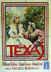 Texas / William Holden / 1941 / Georges Marshall / Movie Poster/94