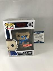Millie Bobby Brown Signed Eleven 8 Bit Stranger Things Funko Pop Bas Beckett 3