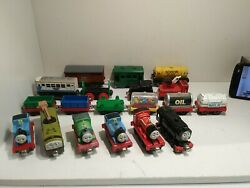 Lot Of 19 Toy Train Cars Thomas And Friends Gullane Learning Curve Hit Toy