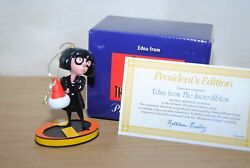 Grolier / Early Moments Disney The Incredibles Edna Xmas Tree Ornament President
