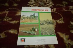 Oliver Tractor Tillage Equipment For 1967 Brochure Cgpa
