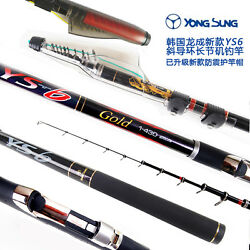 Telescopic Rock Iso Fishing Rods Ys 6 Gold Telescope Carbon Poles Bolognese Rod