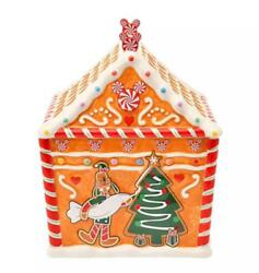 Disney Store Japan 2020 Christmas Gingerbread House For Cooking Dish Ceramic New