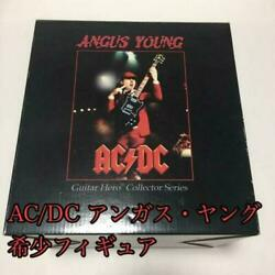 Angus Young Guitar Hero Collector Series Rare Figure Ac / Dc Toys Hobby Used
