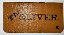Oliver Chilled Plow Works Memo Book