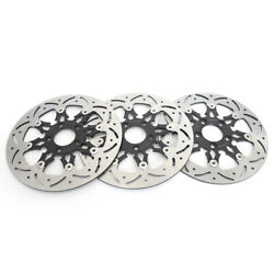 For Dyna Front Rear Brake Discs Rotors Fat Bob Low Rider Fxdf 08-17 Fxdl 14-17