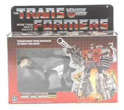 Reissue G1 Sludge Transformers Dinobot Christmas Gift Toy Robots Collection