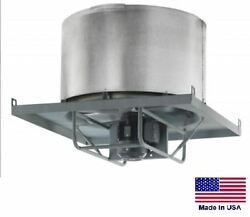 Roof Exhauster Fan - Direct Drive - 18 - 1 Hp - 230/460v - 3 Ph - 4600 Cfm