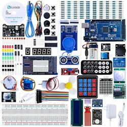 Mega 2560 Project Ultimate Electronics Starter Kit W Cd Compatible W Arduino Ide