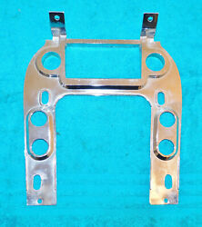 1968 Mustang Fastback Coupe Convertible Gt Cougar Orig Console Radio Bezel Plate