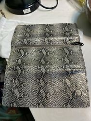 Hobo wallet new Without Tags snake Print smoke Free Home $100.00