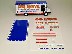 Decals Only- Evel Knievel Sky-cycle X-2 Super Van-greenlight Delivery Van Size
