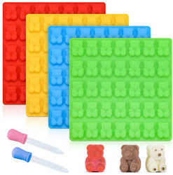 Gummy Bear Molds Candy Molds Chocolate Silicone Decorating Durability Large New