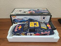 2007 83 Brian Vickers Red Bull Racing Cot 1/24 Action Nascar Diecast