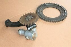 Nos Durant Star Car Johns-manville Speedometer Drive Gear And Bracket Used