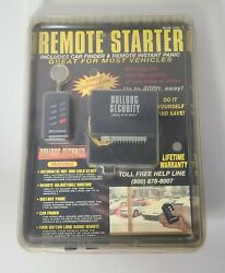 Bulldog Security Long Range Remote Vehicle Starter System Model RS92 New #A