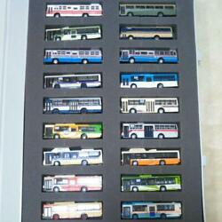 Tomytec Bus Collection 18 Units