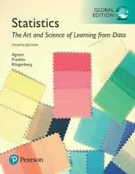 Statistics The Art And Science Of Learning From Data Global Edition New Agresti