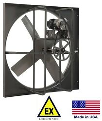 Exhaust Panel Fan - Explosion Proof - 36 - 115/230v - 1 Phase - 13,660 Cfm