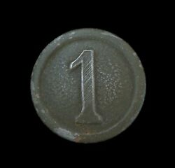 Great War Imperial German Army Infantrymanand039s Uniform Button 1st Company