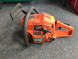 Husqvarna 136 Chainsaw For Parts Or Repair Has Compression