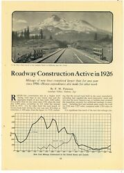 1927 Magazine Pic And Caption Black Butte California South Pacific Rr Mt. Shasta