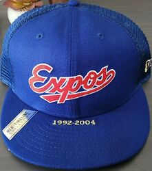 Rare Montreal Expos New Era 9fifty Mlb Timeline Collection Mesh Snapback Hat New