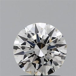 1.21 Ct Round Cut Cvd Lab Grown Loose Diamond Igi Certified H Color Si1 Clarity
