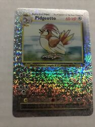 Pidgeotto 34/110 Reverse Holo Rare Pokemon Card 2002 Legendary Collection