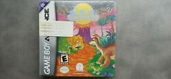 The Land Before Time Collection Nintendo Game Boy Advanced Gba Sealed Ntsc
