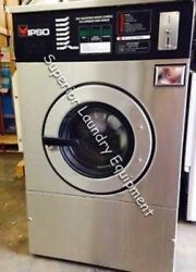 Ipso We73c Washer, 18lb, Coin, 220v, 3ph, Reconditioned