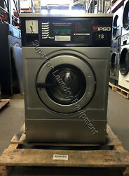 Ipso Iwf018 Washer, 18lb, Coin, 220v, 1/3ph, Reconditioned