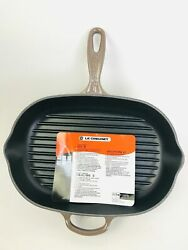 Le Creuset Cast Iron Skillet Fry Pan Truffle Brown 23 - 12.5 Nwt Free Shipping