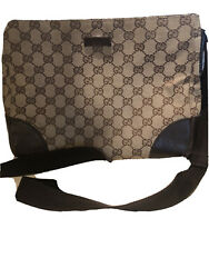 Gucci Guccissima Crossbody Canvas And Leather Beige and Brown $199.00