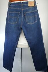 Vintage 501 Big E Redline Selvedge Jeans Size 31 X 30 Late 1960and039s