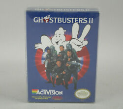 Ghostbusters Ii 2 Nintendo Nes Activision New And Factory Sealed H-seam Authentic