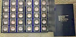Nra A Nation Of Riflemen Silver Coin Set 30 .999 Rounds .63oz Ea 19 Troy Oz