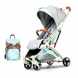 Baby Stroller Bassinet Pram Carriagestroller Compact Convertible Luxury Strolle